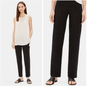 Eileen Fisher System Washable Stretch Crepe Pant